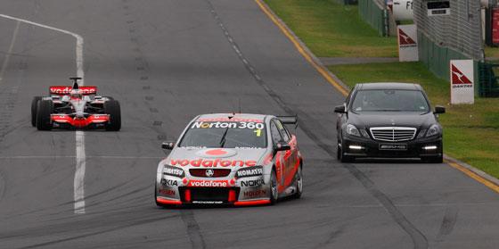Австралийский гран-при гонки Формула 1 в Мельбурне